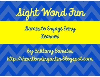 I Have, Who Has:  Sight Word Game for Everyone