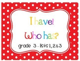 I Have! Who Has? Sight Word & Word Work Game - Grade 3 Bundle (3 Word Lists!)