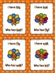I Have, Who Has - Sight Words Thanksgiving Theme