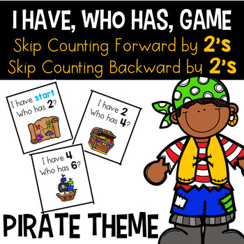 I Have Who Has - Skip Counting By 2