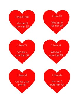 I Have, Who Has - Skip Counting (Valentines Day Theme)