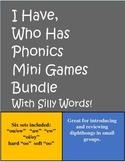 I Have, Who Has Mini Games Bundle