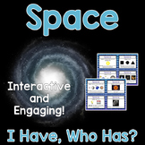 Space Activity - I Have, Who Has?