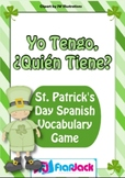 """""""I Have, Who Has"""" Spanish St. Patrick's Day Vocabulary Game - FREE"""