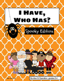 I Have, Who Has? Spooky Edition
