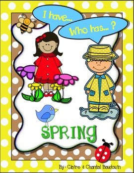 I Have… Who Has? Spring