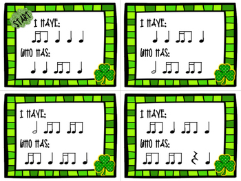 I Have / Who Has? St. Patrick's Day - Tiri-Ti