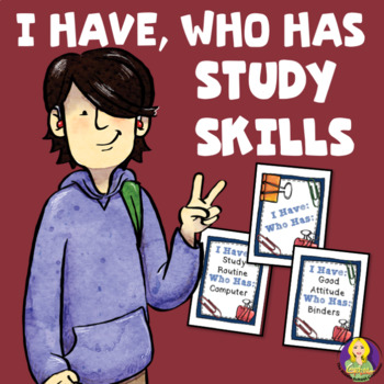 I Have, Who Has Study Skills Game