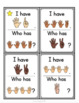 Subitize: I Have... Who Has...? Finger Patterns to 20
