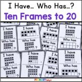 Ten-Frames Game: I Have... Who Has...? Ten-Frames to 20