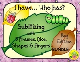 I Have. Who Has? Subitizing 1-5 Bundle (Insects/Bugs)