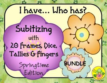 I Have. Who Has? Subitizing 0-20 (Spring)