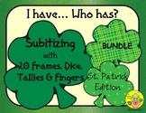 I Have. Who Has? Subitizing 0-20 (St. Patrick's Day)