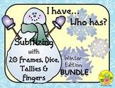 I Have. Who Has? Subitizing 0-20 Bundle (Winter)