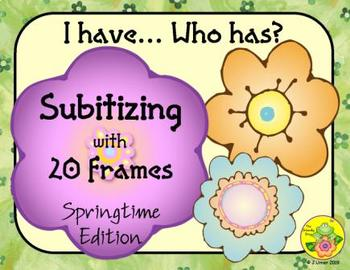 I Have. Who Has? Subitizing with 20 Frames (Spring)