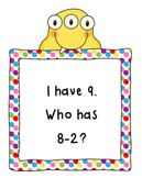 I Have, Who Has Subtract 2-CCSS Aligned