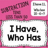 "Subtraction ""I have, who has"""