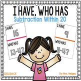 I Have, Who Has: Subtraction Within 20