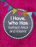 I Have, Who Has... {Surface Area & Volume of Rectangular Prisms and Cubes}