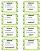 I Have - Who Has Synonym Antonym Set 01