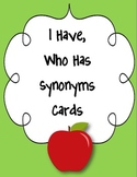 I Have, Who Has Synonym Cards