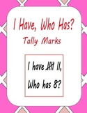 I Have Who Has Tally Marks