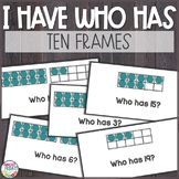 Ten Frames 0 to 20 I Have Who Has Game