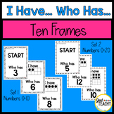 I Have, Who Has, Ten Frames