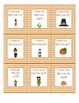 I Have, Who Has Thanksgiving Sight Word Game