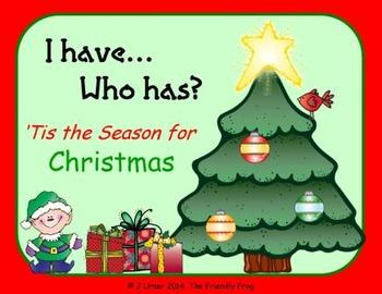 I Have. Who Has? 'Tis the Season for Christmas