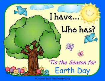 I Have. Who Has? 'Tis the Season for Earth Day