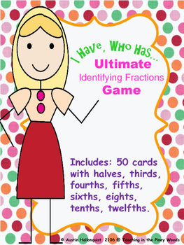 I Have, Who Has...Ultimate Identfying Fractions Game
