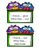 I Have Who Has for Sight Words 1st grade {Unit 4}