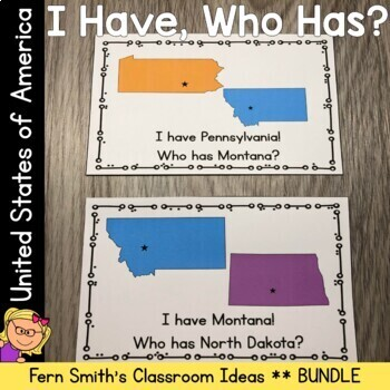 I Have Who Has Games United States of America Bundle