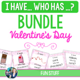 I Have, Who Has ? Valentine's Day Vocabulary Games BUNDLE