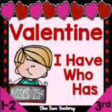 I Have Who Has | Valentine's Day Literacy Activities | February Literacy