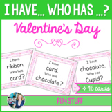 I Have, Who Has ? Valentine's Day Vocabulary Game (48 cards)