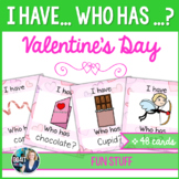 I Have, Who Has ? Valentine's Day Vocabulary Game with Pictures