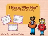 I Have, Who Has Valentine's Day