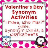 Valentine's Day Synonym Activities