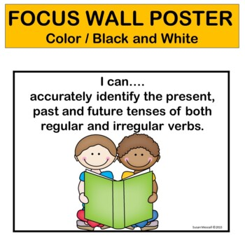 Verb Tenses Game- I Have, Who Has Regular and Irregular Past, Present and Future