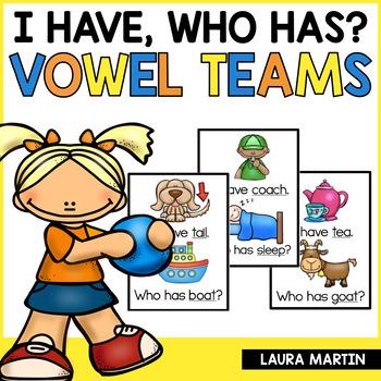 I Have, Who Has-Vowel Teams