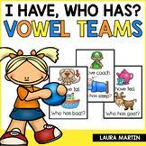 Vowel Teams I Have Who Has Game