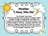 "Weather ""I Have, Who Has"""