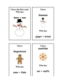 I Have Who Has Winter Compound Words
