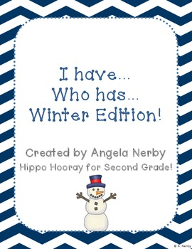 I Have, Who Has: Winter Edition!