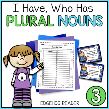 I Have, Who Has Winter Plural Nouns