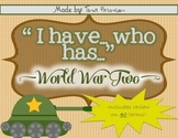 I Have, Who Has World War II Game