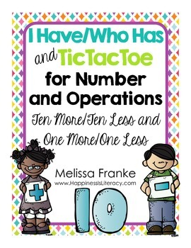 I Have Who Has and TicTacToe for Number and Operations