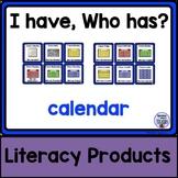 I Have, Who Has? - calendar